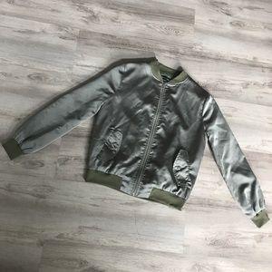 Carli Bybel x Missguided Bomber Jacket Size 4
